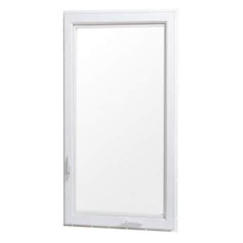 tafco windows white vinyl casement window  screen vc   home depot