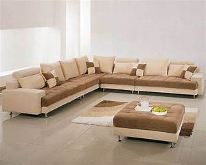 two tone fabric contemporary sectional sofa set 44lg60b With 2 tone sectional sofa