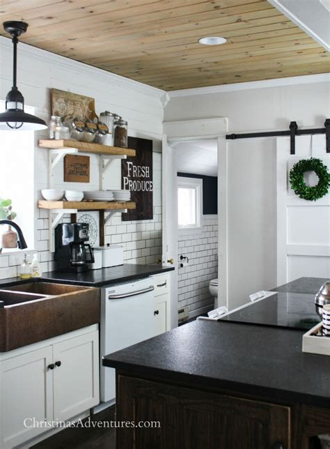 farmhouse 2 tone kitchen cabinets farmhouse decor in the kitchen for and summer