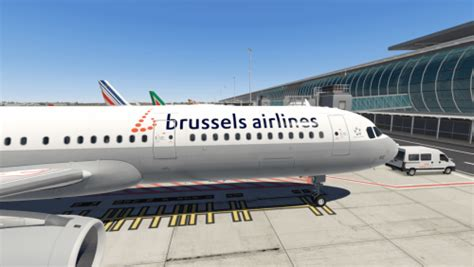 Brussels Airlines A321 - Aircraft Skins - Liveries - X ...