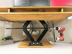 One Way To Do A Motorized    Adjustable Height Desk