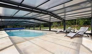 Abri Haut Piscine : abri piscine mi haut cassiopee sokool ~ Premium-room.com Idées de Décoration