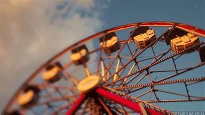 Round Wheel Ferris Merry Carousel Animated Favim