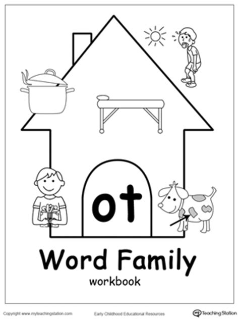 ot word family match picture with word myteachingstation com
