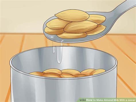 juicer milk almond almonds