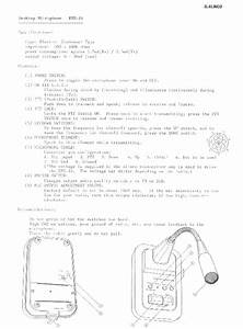 Alinco Ems 14 Radio Instruction Owners Manual