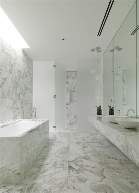 white marble bathroom ideas 30 marble bathroom design ideas styling up your private daily rituals freshome com