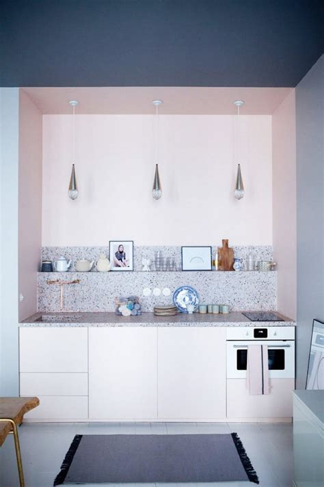 light pink kitchen house envy signs of lark linen 3758
