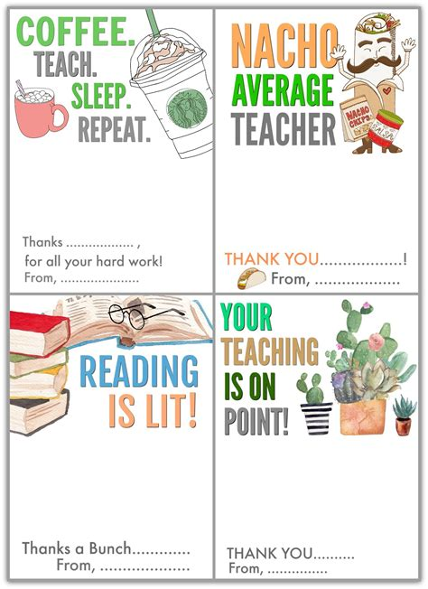 Free printable teacher appreciation gift tags, some say you are just a teacher, but to me your a superhero. Free Printable Teacher Appreciation Gift Card Holders