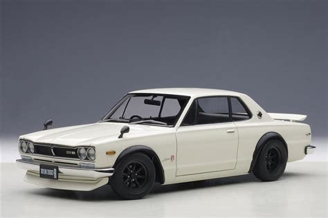 autoart nissan skyline gt  kpgc tuned version