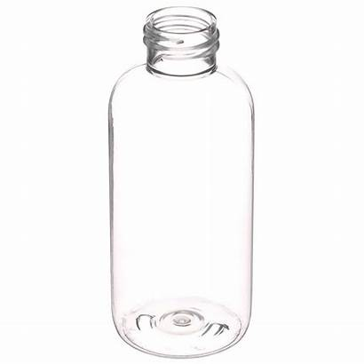 Plastic Oz Clear Bottle Boston Finish Neck