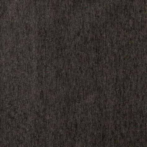 Solid Upholstery Fabric by A838 Charcoal Grey Solid Chenille Upholstery Fabric By The