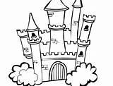 Castle Disney Coloring Drawing Frozen Line Cinderella Walt Sand Printable Kingdom Magic Princess Sheet Clipartmag Sandcastle Castles Getcolorings sketch template