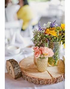 Rondin De Bois Table : centre de table rondin de bois centre de table nos 20 jolies id es pour un mariage r ussi elle ~ Teatrodelosmanantiales.com Idées de Décoration