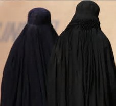 Image result for images women in complete burqa