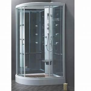Cabine De Douche Hydromassante : cabine de douche walis 120x80 cm hydromassante lt aqua ~ Dailycaller-alerts.com Idées de Décoration