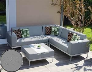 Alu Lounge Möbel : alu garten garnitur hwc c47 sofa lounge set textil outdoor wasserabweisend ebay ~ Indierocktalk.com Haus und Dekorationen