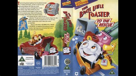 the brave toaster to the rescue trailer the brave toaster to the rescue 1998 uk vhs