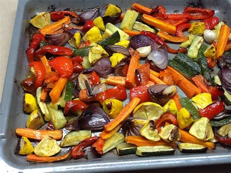how to roast vegetables in oven recipes oven roasted vegetables