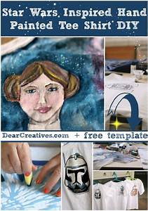 Star Wars Diy : diy crafts star wars inspired fabric painting tutorial ~ Orissabook.com Haus und Dekorationen