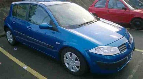 renault megane 2004 blue renault 2004 04 megane expression 1 6 auto 1 owner full