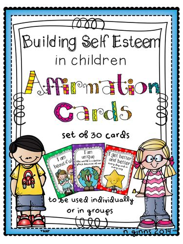 The accompanying guide is quite practical, and readers enjoy the creative and whimsical qualities of these cards. SELF ESTEEM POSITIVE AFFIRMATION CARDS for SEN, Social Skills Interventions by hoppytimes ...