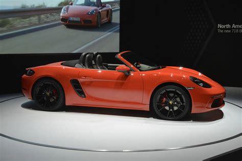 New York 2016 Porsche 718 Boxster Gtspirit
