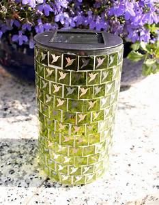 Deko Bad Grün : mosaik solarleuchte solar solarlampe kegel deko gr n goldfarben eglo ~ Sanjose-hotels-ca.com Haus und Dekorationen