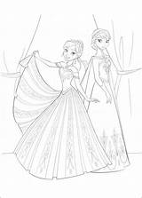 Frozen Fun Coloring Pages sketch template