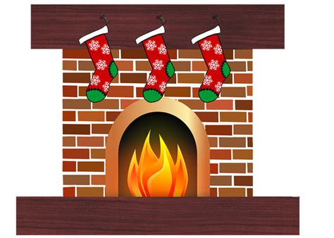 Fireplace Logs Clip Art » Designtube