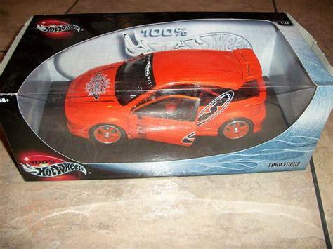hot wheels orange ford focus car  ebay