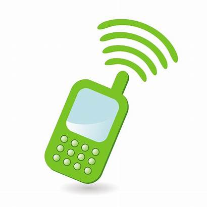 Phone Cell Cliparts Clipart Computer Designs