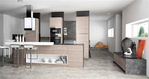 cuisine morel cuisine bois clair moderne affordable cuisine moderne en