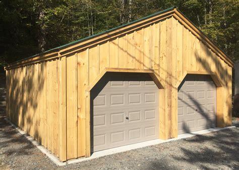 garage kit post  beam garage jamaica cottage shop