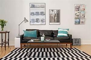 Tapis Ikea Noir Et Blanc : tapis stockholm ikea ~ Teatrodelosmanantiales.com Idées de Décoration