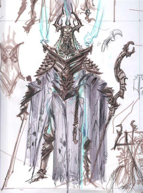 Dragon Priest Concept Art From The Elder Scrolls V Skyrim