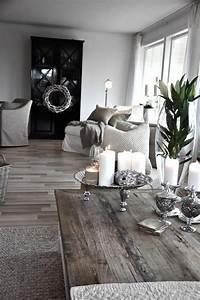 Dekoration Für Wohnzimmer : dekoration f r landhaus wei e motive als akzent ~ Udekor.club Haus und Dekorationen