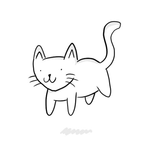 cat floating gif  hoppip find share  giphy