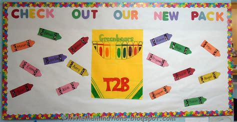 illuminations back to school bulletin boards redux 954 | Crayons New Pack BB DSC09047