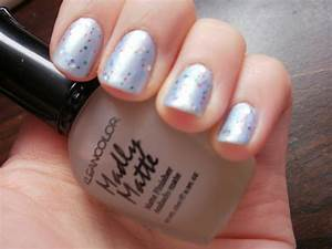 artistry nails periwinkle glitter