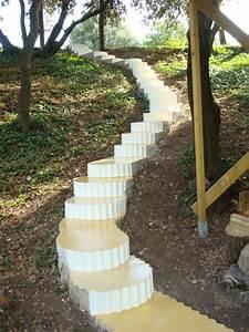 Comment Retenir La Terre Dans Une Pente : peindre un escalier ext rieur en b ton ~ Melissatoandfro.com Idées de Décoration