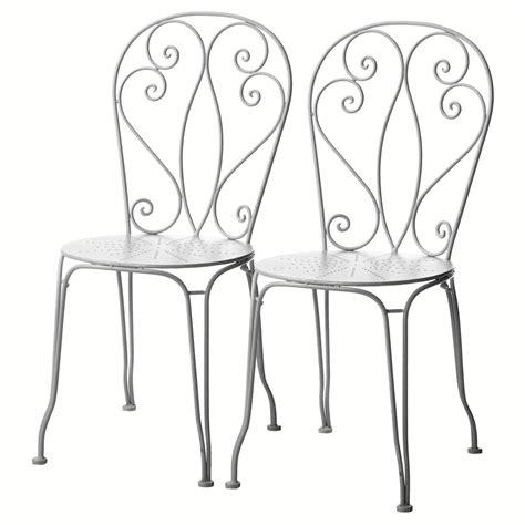 chaise de jardin chaise de jardin fer forgé castorama chaise idées de