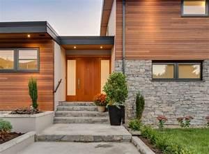 Pierre Parement Extérieur : terrasse bois mur pierre ~ Melissatoandfro.com Idées de Décoration