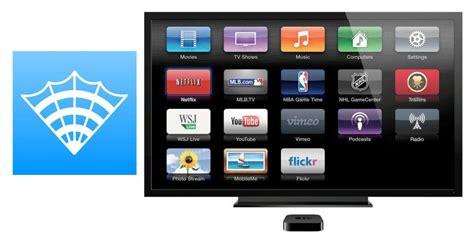 Bedroom Apple Tv by Ios App Airweb Brings Proper Web Browsing To Apple Tv