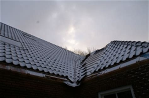 flauw pannendak dakpannen hoek halve parasol