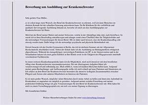 Bewerbung Zur Ausbildung : gesundheits und krankenpflegerin musterbewerbung ausbildung bewerbungsforum ~ Eleganceandgraceweddings.com Haus und Dekorationen