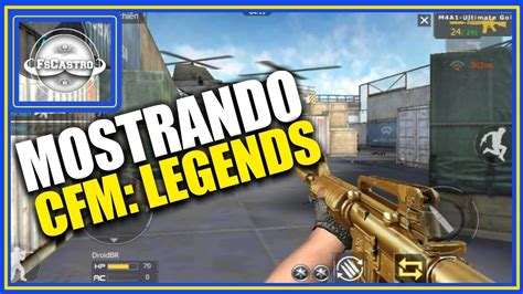 crossfire mobile legends mostrando o jogo