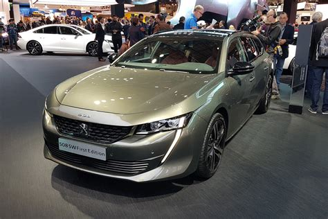 New Peugeot by Gallic Space Race New Peugeot 508 Sw Revealed At
