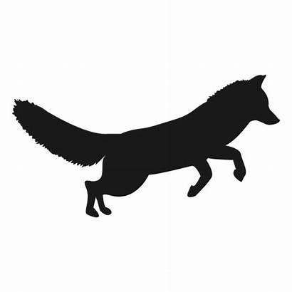 Silhouette Fox Clip Library Animal