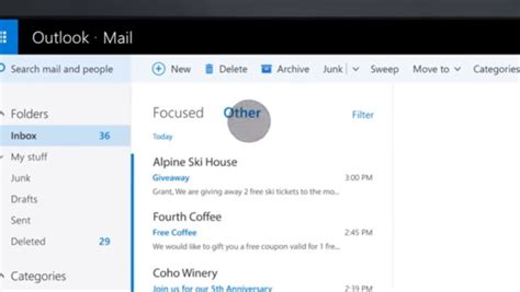 Office 365 Outlook Focused Inbox by Microsoft Boosts The Intelligence Of Office With Zoom For